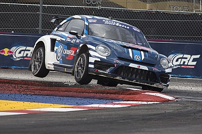 Volkswagen Andretti Rallycross starts title defense at Phoenix double header