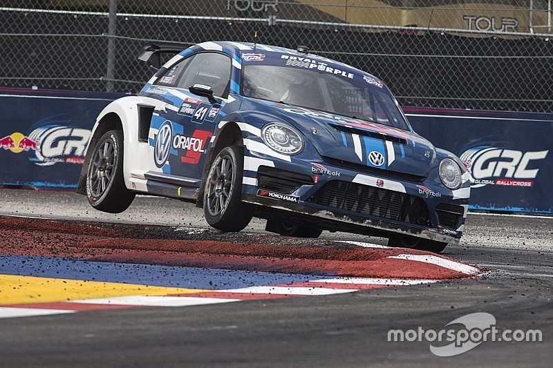 Volkswagen Andretti Rallycross starts title defense at Phoenix double header