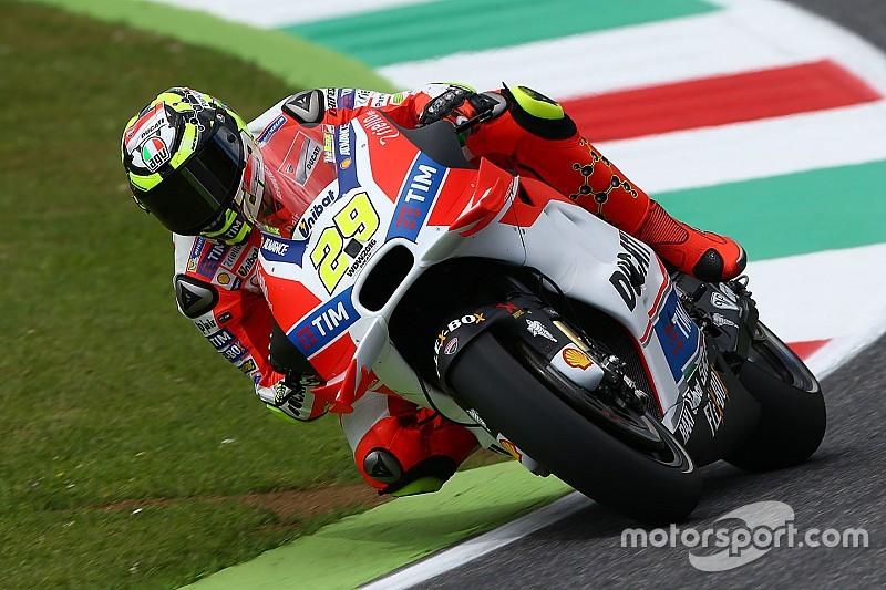 Em sexta-feira chuvosa, Iannone é o mais rápido em Mugello