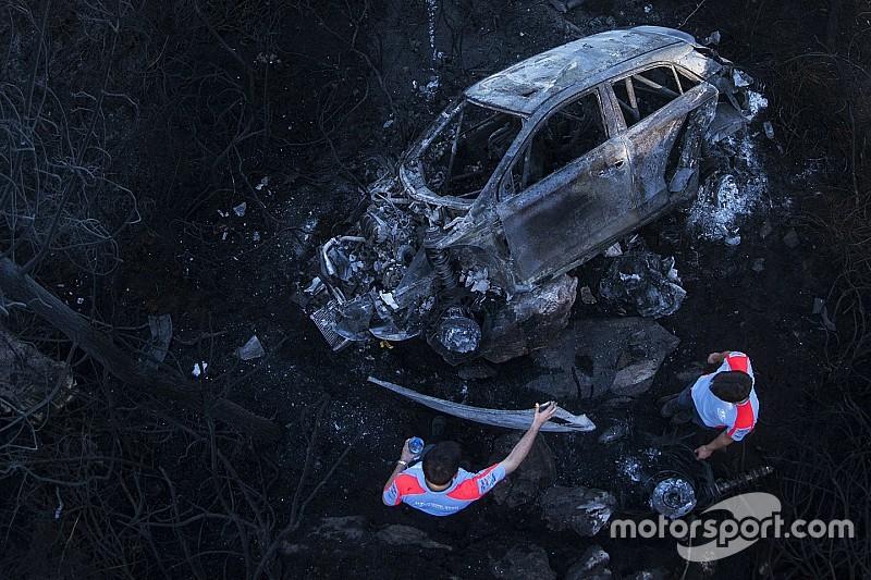 Video del accidente de Hayden Paddon