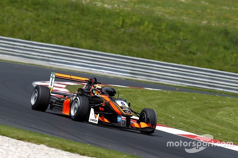 C1 - Ilott remporte une course abrégée par un énorme crash