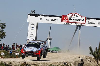 Portekiz WRC: Benzini biten Neuville yarış dışı kaldı