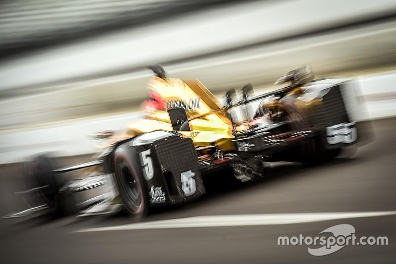 Hinchcliffe el más rápido, Serviá fuera del Fast Nine