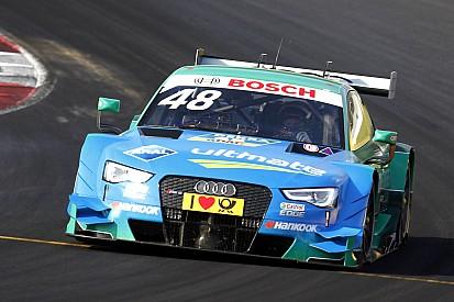 Гонщики Audi впереди в воскресной тренировке