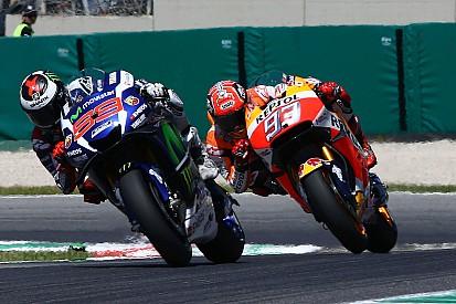 MotoGP'de çılgın finiş - Lorenzo son metrede kazandı!