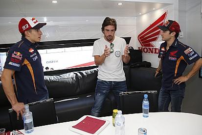 Alonso vibra com final de prova da MotoGP