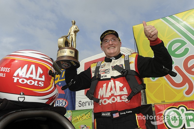 Kalitta scores third straight Top Fuel victory