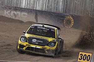 Global Rallycross Race report Tanner Foust sweeps Red Bull Global Rallycross Phoenix