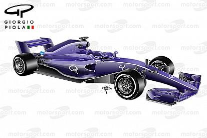 Vídeo: as mudanças do carro da F1 para 2017