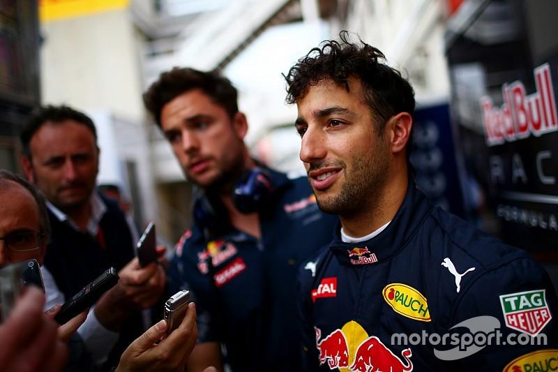 Ricciardo esperaba tener prioridad para el nuevo motor Renault