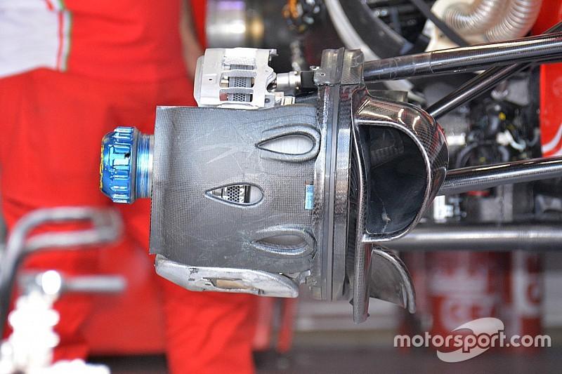 Análise técnica: os freios dianteiros da Ferrari