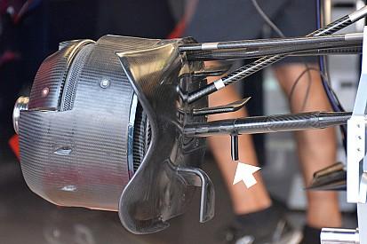 Análise técnica: aleta da suspensão dianteira da Toro Rosso