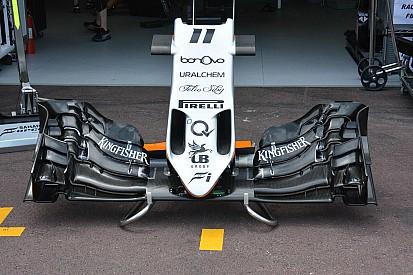 Análise técnica: a asa dianteira da Force India