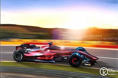 Взгляд в будущее: как могла бы выглядеть машина Alfa Romeo в Ф1