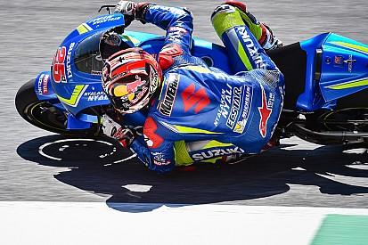 La Suzuki ha provato due nuovi telai nei test di Valencia