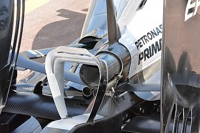 技术短文:梅赛德斯W07的尾翼辅助翼