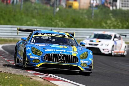24u Nürburgring: Buurman en collega's met Mercedes AMG GT3 op pole
