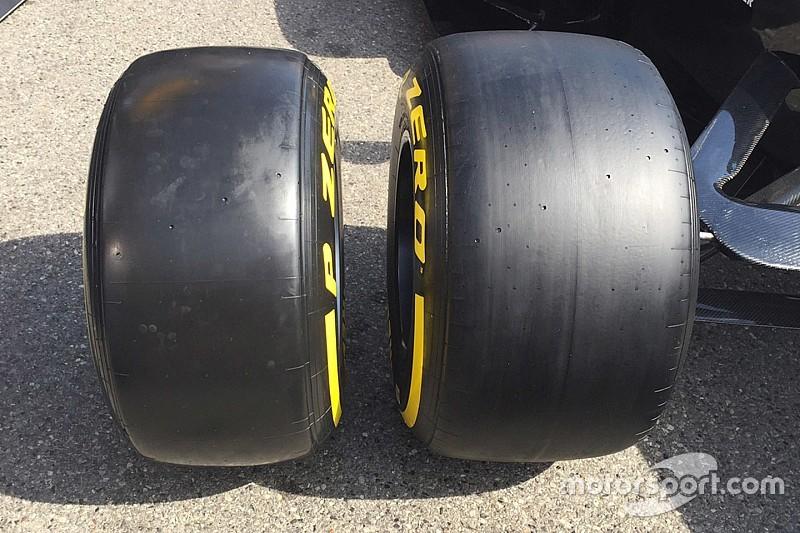 Pirelli onthult bredere F1-banden voor 2017