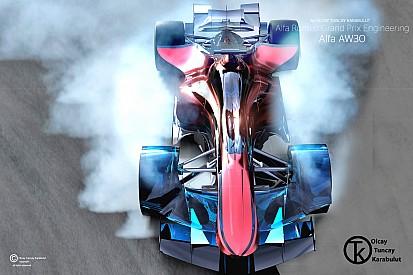 Galería: Los diseños futuristas de los coches de F1