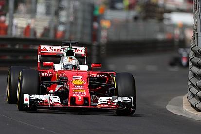 F1モナコGPフリー走行3回目:ベッテルが最速。予選はトップ3チームの三つ巴か?