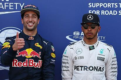 Mercedes reconoció la superioridad de Ricciardo en calificación