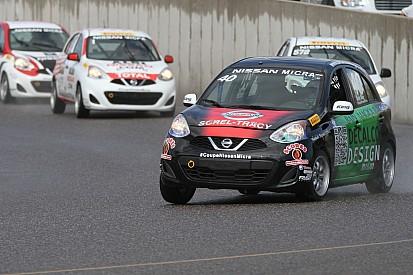 Kevin King remporte la course Nissan Micra au Mont-Tremblant