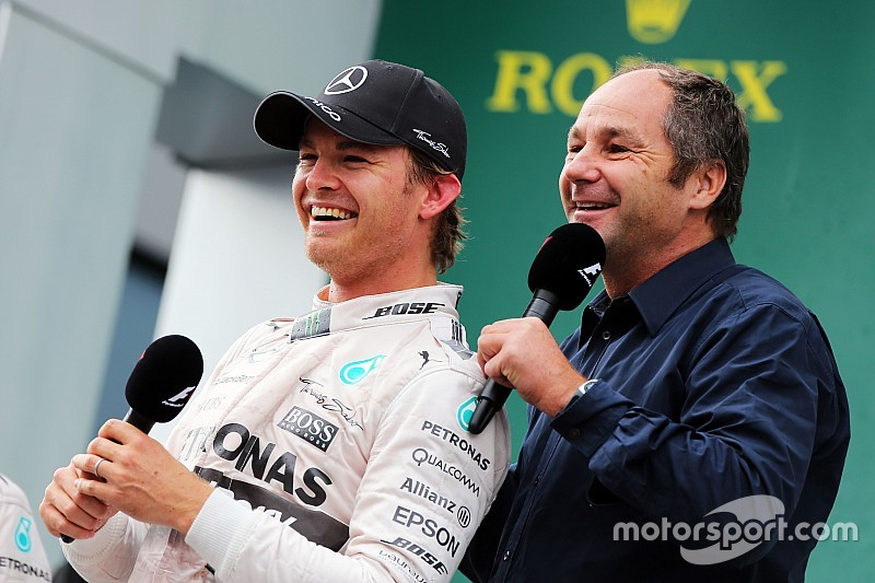 Berger handling Rosberg's F1 contract talks