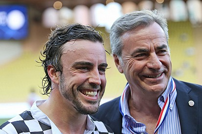 Sainz ve Alonso Real Madrid'le sevindi