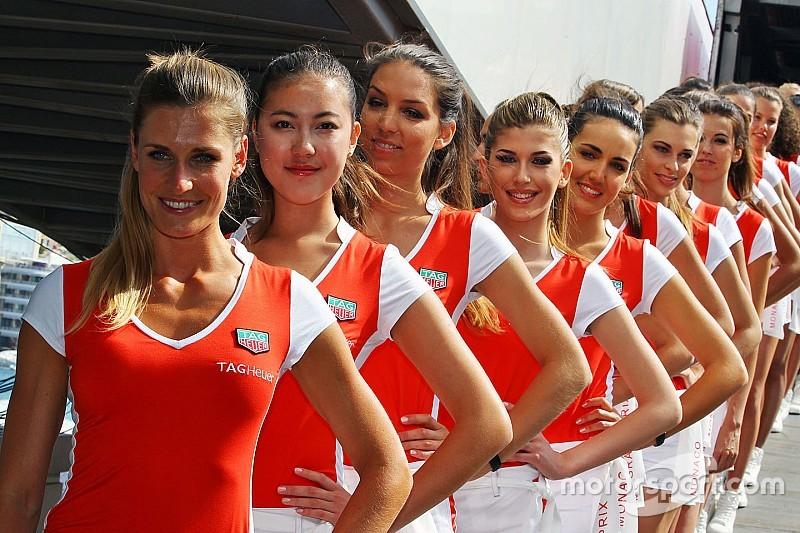 Las chicas de la parrilla del GP de Mónaco