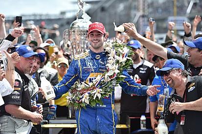Çaylak Alexander Rossi 100'üncü Indy 500'ü kazandı