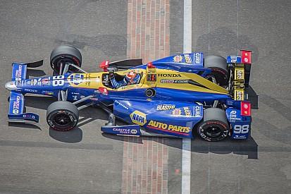 """Rossi dolblij met sensationele Indy500-zege: """"Emotionele achtbaan"""""""