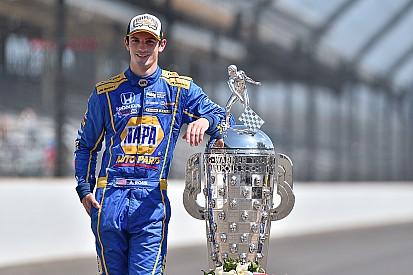 Indy 500'ü kazanan Rossi 2.5 milyon doların sahibi oldu