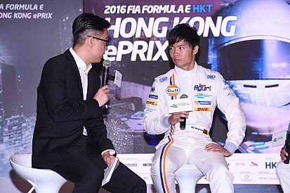 Ma Qing Hua stella del lancio dell'ePrix di Hong Kong 2016