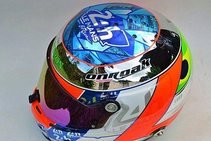 Pipo Derani apresenta capacete especial para Le Mans