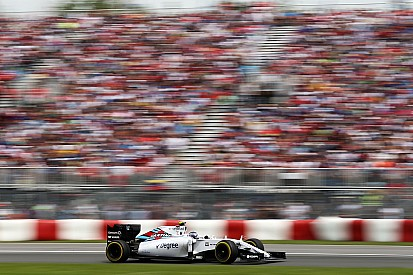 A new section added to Grandstand 12 for the Canadian Grand Prix