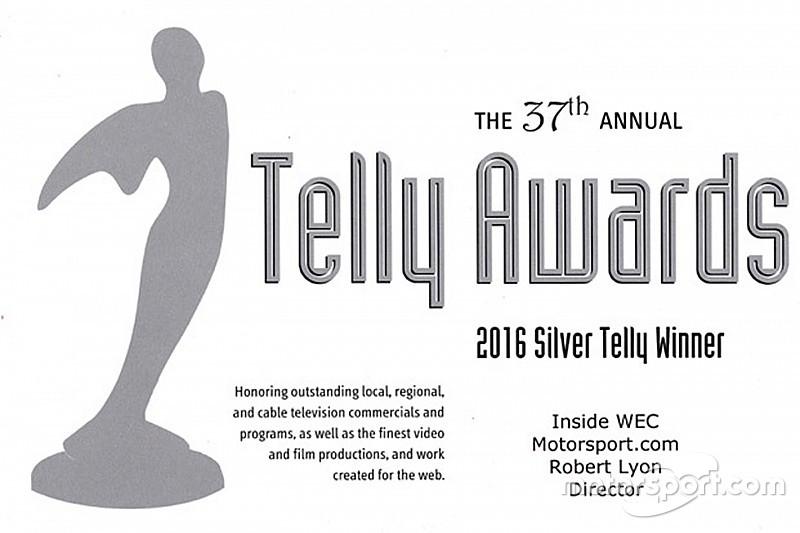 Motorsport.com ganha Telly Awards de prata na categoria Webserie
