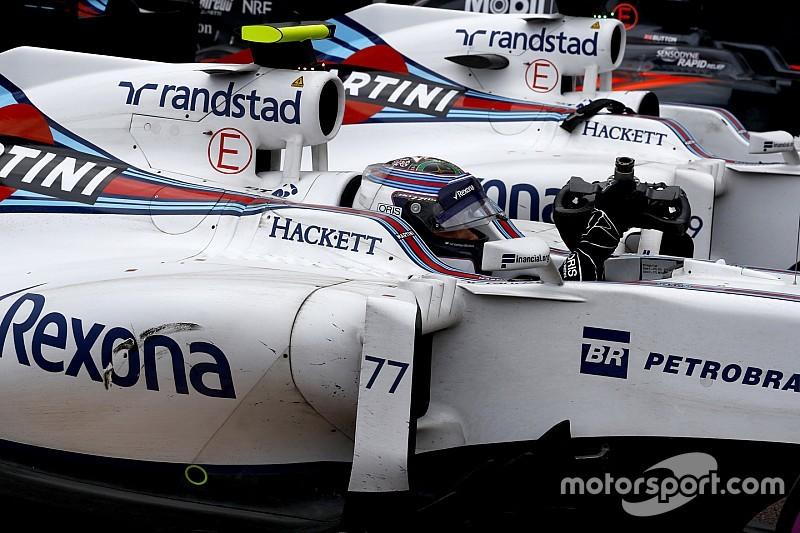 """Williams, """"orgulloso"""" a pesar de la ausencia de victorias"""