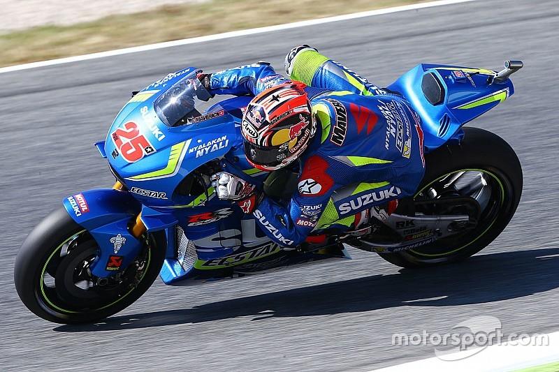 MotoGP Barcelona: Viñales snelste in VT3, Rossi maakt het spannend