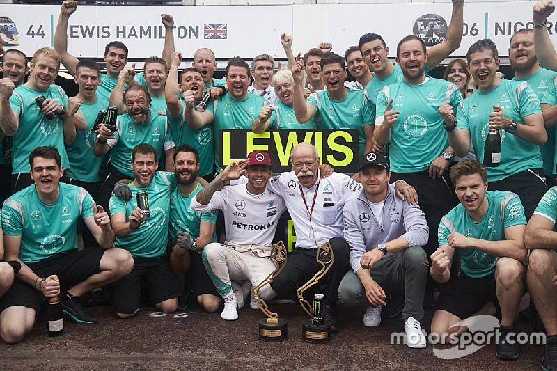 Hamilton - Mercedes commence à craquer sous la pression