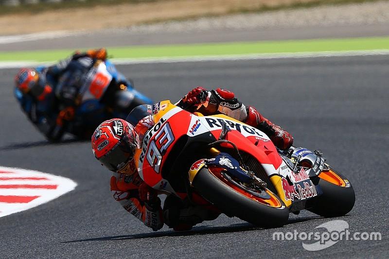 MotoGP加泰罗尼亚大奖赛: 本田车队马奎兹轻松夺下杆位
