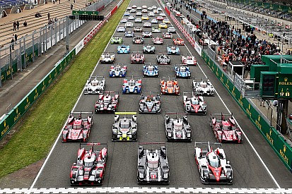 Bildergalerie: Das traditionelle Foto mit allen Le-Mans-Autos 2016