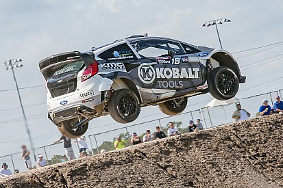 Patrik Sandell wins Global Rallycross Dallas