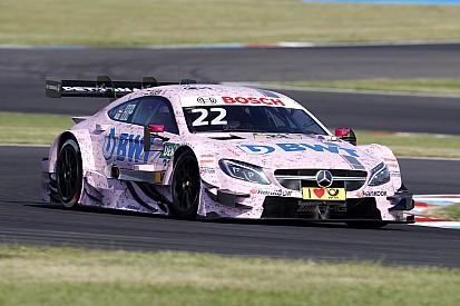 Auer lidera un doblete de Mercedes en la clasificación de Lausitz