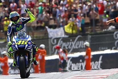 Rossi tord le cou à la malédiction de la 10e victoire