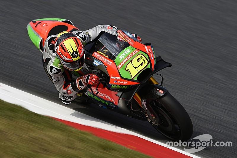 Bautista ottavo: due Aprilia RS-GP in zona punti