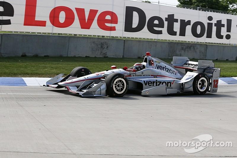 Detroit IndyCar : Kazanan Power, Penske 1-2