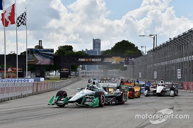 Video: Die IndyCar-Highlights aus Detroit