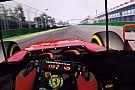 Szimulátoros pályabejárás a Ferrarival Ausztráliában: Melbourne, Albert Park