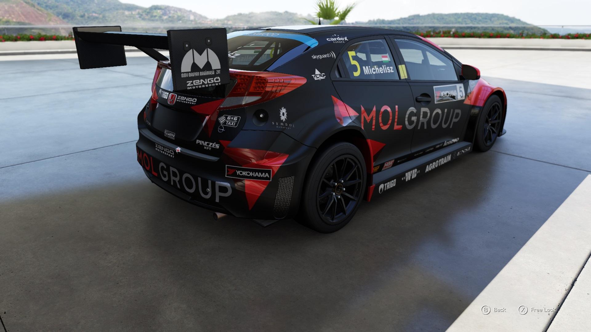 Forza Motorsport 6: Totálkárosra törtük Michelisz Norbi Hondáját…