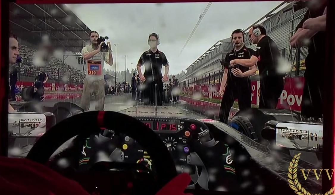 F1 2015: Szakadó esőben versenyezni az új F1-es játékban
